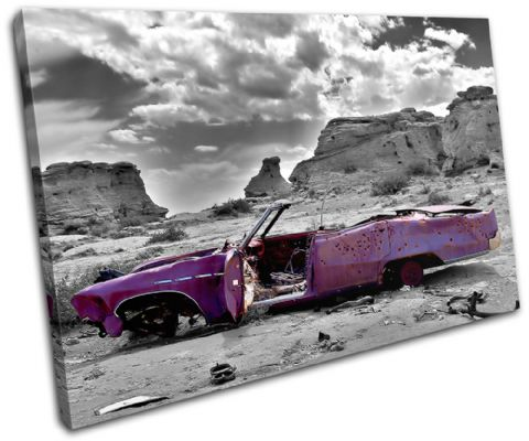 Decayed Car Purple Urban - 13-0002(00B)-SG32-LO